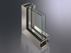 Finestra a taglio termico in alluminioSimplySmart - SCHÜCO INTERNATIONAL ITALIA