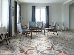 - Porcelain stoneware flooring FLOWER - Ceramiche Refin