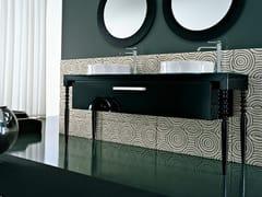 - Console sink DEKÒ | Double vanity unit - IdeaGroup