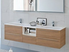 - Double Aquatek vanity unit COMP MFE01 - IdeaGroup