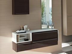 - Wenge vanity unit COMP MFE04 - IdeaGroup