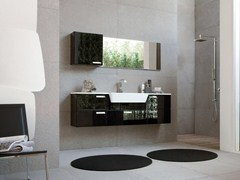 - Lacquered vanity unit with drawers COMP MFE05 - IdeaGroup