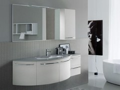 Mobile lavabo in mineralmarmo comp mfe03 idea - Mobile bagno fly ...
