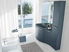 - Vanity unit with doors with cabinets COMP MFE18 - IdeaGroup