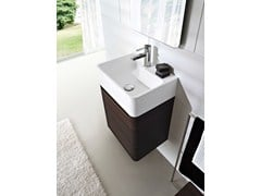- Wall-mounted wenge vanity unit COMP MSP03 - IdeaGroup
