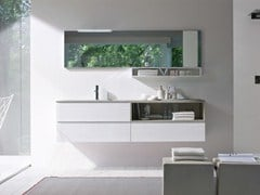- Lacquered ash vanity unit COMP MSP07 | Vanity unit - IdeaGroup