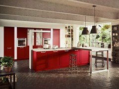 - Fitted kitchen with island LUX CLASSIC | Kitchen with island - Snaidero