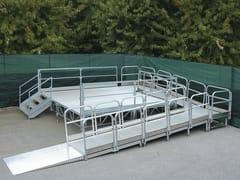 Rampa d'accesso in alluminio LEVEL - SELVOLINA