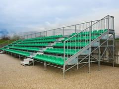 - Modular system for steel platform and stand 5 ROW MARATHON TRIBUNE - SELVOLINA