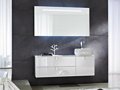 - Lacquered vanity unit COMP C03 - IdeaGroup