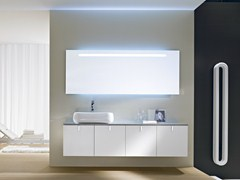 - Wall-mounted vanity unit COMP C04 - IdeaGroup