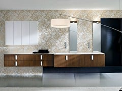 - Double wall-mounted vanity unit COMP TE7 - IdeaGroup