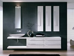 - Vanity unit with mirror COMP TE3 - IdeaGroup