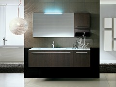 - Wall-mounted vanity unit COMP TE4 - IdeaGroup
