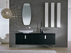 - Floor-standing vanity unit with mirror COMP TE5 - IdeaGroup