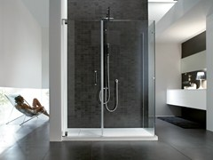 - Rectangular steel shower cabin HAND | Shower cabin - IdeaGroup
