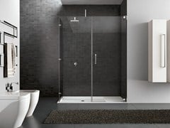- Rectangular steel shower cabin HAND05 - IdeaGroup