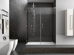 - Rectangular steel shower cabin HAND06 - IdeaGroup