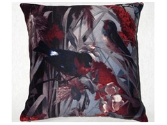 - Square polyester cushion FIDELES HIVER - LELIEVRE