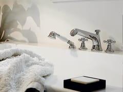 - Bathtub tap with hand shower with individual rosettes AGORÀ | Bathtub tap - ZUCCHETTI