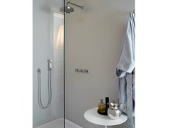 - Shower tap with hand shower with overhead shower AGORÀ | Shower tap with hand shower - ZUCCHETTI