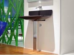 - Pedestal ceramic washbasin PLATE | Pedestal washbasin - CERAMICA FLAMINIA