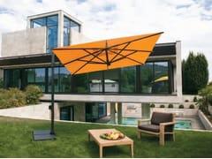 - Offset aluminium Garden umbrella GARDA GRAPHITE - FIM