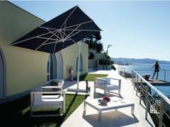 - Offset aluminium Garden umbrella GARDA WHITE - FIM