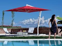 - Offset aluminium Garden umbrella CAPRI WHITE - FIM