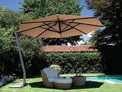 - Offset adjustable Garden umbrella CAPRI GRAPHITE - FIM