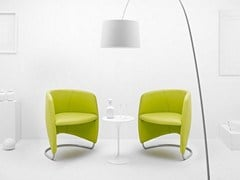 Sillón bajo cantilever tapizado BUDDY HULLY - Design You Edit