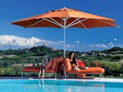 - Round aluminium Garden umbrella REFLEX WHITE - FIM