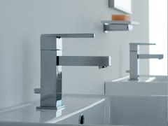 - Countertop single handle washbasin mixer SOQQUADRO | Washbasin mixer - ZAZZERI