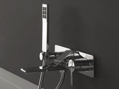 - Wall-mounted single handle bathtub set with hand shower REM | Wall-mounted bathtub set - ZAZZERI