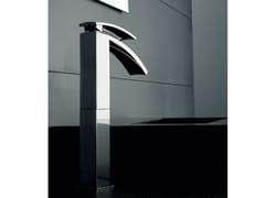 - Countertop single handle 1 hole washbasin mixer MOON | Countertop washbasin mixer - ZAZZERI