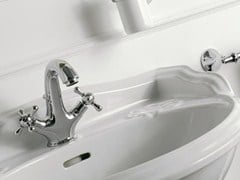 - Countertop 1 hole washbasin tap MILLE | 1 hole washbasin tap - ZAZZERI