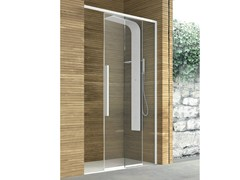 - Crystal shower cabin with sliding door TOP | Crystal shower cabin - GRUPPO GEROMIN