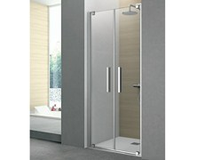 - Cabin shower with 2 pivot doors PIVOT | Crystal shower cabin - GRUPPO GEROMIN