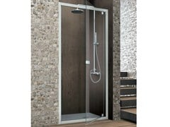 - Crystal shower cabin with pivot door ASTER-T | Crystal shower cabin - GRUPPO GEROMIN