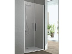 - Shower cabin with 2 saloon shutter doors LINE | Niche shower cabin - GRUPPO GEROMIN