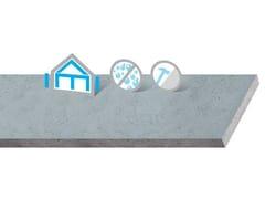 Lastra a base di cemento alleggerito con polistirene espansoAQUAROC - SAINT-GOBAIN GYPROC