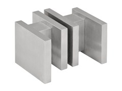 - Stainless steel glass door handle SQUARE | Glass door handle - Formani Holland B.V.