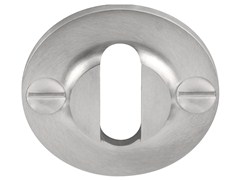 - Round stainless steel keyhole escutcheon FERROVIA | Stainless steel keyhole escutcheon - Formani Holland B.V.