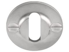 - Round stainless steel keyhole escutcheon FERROVIA | Stainless steel keyhole escutcheon - Formani Holland B.V.