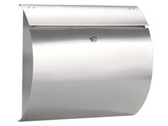 - One-sided outdoor stainless steel mailbox SIRIUS - Formani Holland B.V.
