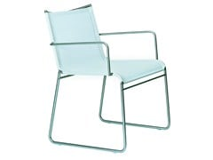 - Sled base chair with armrests CLIP | Chair with armrests - Bivaq