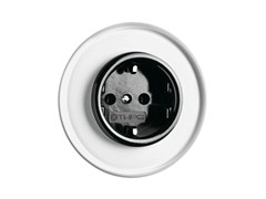 - Single electrical outlet 100638 | Outlet With Glass Covering - THPG