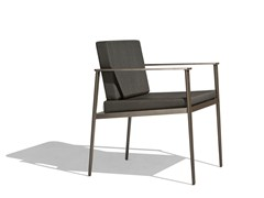 - Upholstered garden chair with armrests VINT | Garden chair - Bivaq