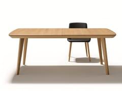 - Rectangular solid wood dining table FLAYE | Rectangular table - TEAM 7 Natürlich Wohnen
