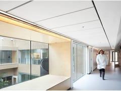 - Acoustic glass wool ceiling tiles Ecophon Access™ C - Saint-Gobain ECOPHON